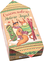 Набор коробок подарочных Белбогемия Счастливого Нового года 11442307 / 91089 (10шт) -