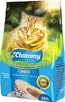 Корм для кошек Chammy С рыбой (350) -