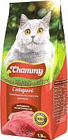 Корм для кошек Chammy С говядиной (1.9кг) -