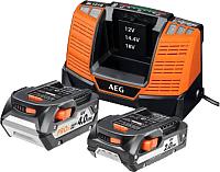 Аккумулятор для электроинструмента AEG Powertools SETLL18X02BL2 (4932459176) -