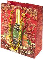 Набор пакетов подарочных Белбогемия Новогодний 10444754 / 67735 (12шт) -