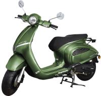 Скутер Regulmoto Insetto 125 EFI / LJ125T-2V (зеленый) -