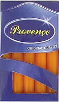 Набор свечей Белбогемия Provence 560109/37 / 35249 (10шт, оранжевый) -
