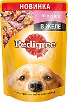 Корм для собак Pedigree Для взрослых собак всех пород с ягненком в желе (100г) -