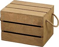 Ящик для хранения Белэкспоформ 1801 (коричневый) -