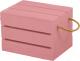 Ящик для хранения Белэкспоформ 1801 (розовый) -