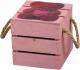 Ящик для хранения Белэкспоформ 1804.2.3 (розовый) -