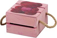 Ящик для хранения Белэкспоформ 1805.2.3 (розовый) -