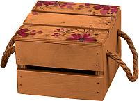 Ящик для хранения Белэкспоформ 1805.2.4 (коричневый) -