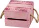 Ящик для хранения Белэкспоформ 1805.2.4 (розовый) -