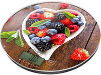 Кухонные весы Home Element HE-SC933 (ягодный микс) -
