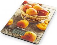 Кухонные весы Marta MT-1634 (медовый абрикос) -