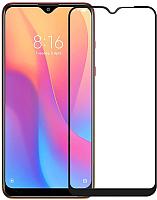 Защитное стекло для телефона Case Full Glue для Redmi 8 / 8A (черный) -