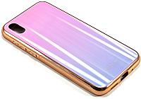 Чехол-накладка Case Aurora для Y5 (розовый/фиолетовый) -