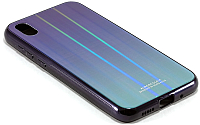 Чехол-накладка Case Aurora для Y5 (синий/черный) -