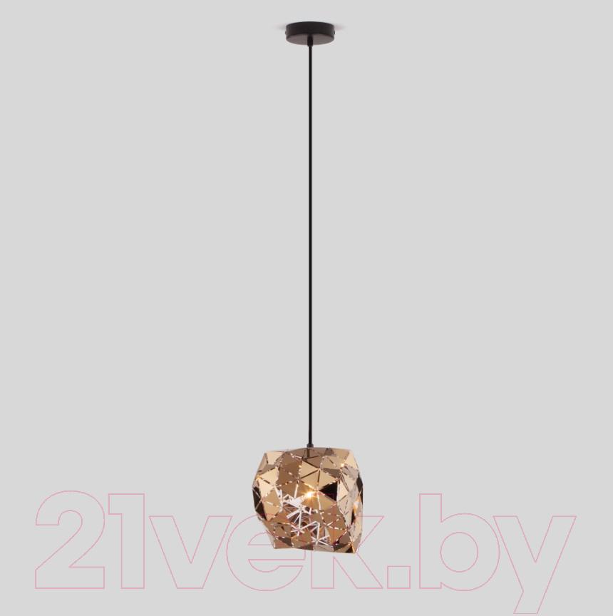Купить Потолочный светильник Евросвет, 50168/1 (золото), Китай