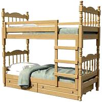 Двухъярусная кровать Bravo Мебель Соня 90x200 (сосна) -