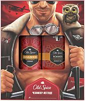 Набор косметики для тела Old Spice Roamer дезодорант твердый 50мл+гель для душа 250мл -