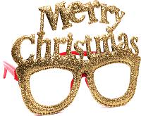 Набор очков для праздника Белбогемия Merry Christmas NY13343 / 91256 (4шт) -