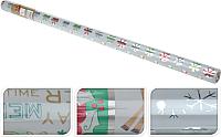Набор бумаги для оформления подарков Белбогемия Новогодней PPN000060-3/81529 (в ассортименте) -