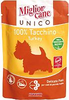 Корм для собак Miglior Cane Unico Turkey (150г) -