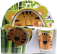 Набор столовой посуды Fresca Тигр / BP2524-TIGER -