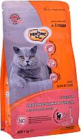 Корм для кошек Мнямс Skin & Coat с лососем / 704031 (400г) -