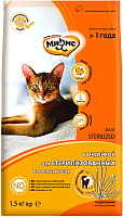 Корм для кошек Мнямс Sterilized с индейкой / 703997 (1.5кг) -