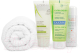 Набор косметики для лица и волос Avene Термальная вода+гель A-Derma+шампунь Ducray+сумка+полотенце (50мл+100мл+100мл) -