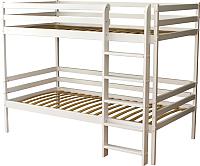 Двухъярусная кровать детская Можга Р426 (белый) -