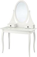 Туалетный столик с зеркалом Ikea Хемнэс 003.688.66 -