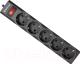 Сетевой фильтр Defender ES largo (5м, 5 розеток, черный) -