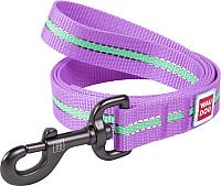 Поводок Collar Waudog Nylon 45749-1 (фиолетовый) -