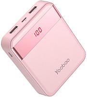 Портативное зарядное устройство Yoobao Power Bank M4Pro (розовый) -