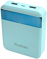 Портативное зарядное устройство Yoobao Power Bank M4Pro (синий) -