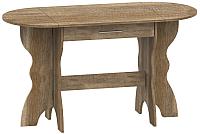 Обеденный стол Лида-Stan 2 ОСС1168 АИ06.01-114 (дуб каньон) -