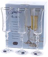 Набор бокалов Bohemia Crystal Grace 40792/Q9165/190 (6шт) -