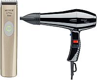 Профессиональный фен Moser 1584-0002 с триммером (черный) -