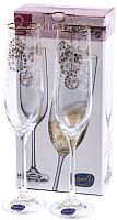 Набор бокалов Bohemia Crystal Viola 40729/S1201/190 (2шт) -