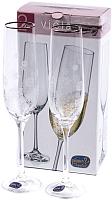 Набор бокалов Bohemia Crystal Viola 40729/Q8606/190 (2шт) -
