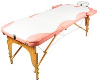 Массажный стол Atlas Sport 3D-70195/4 (white/pink) -