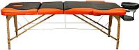 Массажный стол Atlas Sport 3D-70195/4 (black/orange) -