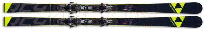 Горные лыжи Fischer, Rc4 Worldcup Gs Jr. Curv Booster / A10019 (р.135), Китай  - купить со скидкой