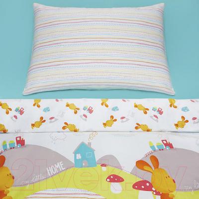 Комплект постельный в кроватку Perina Кролик / ПК3-02.1