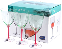 Набор бокалов Bohemia Crystal Kate 40796/D5094/22/400 (6шт) -