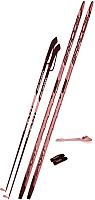 Комплект беговых лыж STC Step NNN 150/110 (красный) -