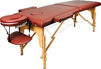 Массажный стол Atlas Sport 2D-60185/4B (burgundy) -