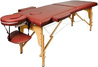 Массажный стол Atlas Sport 2D-70195/4 (burgundy) -