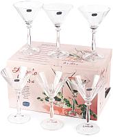 Набор бокалов для мартини Bohemia Crystal Angela 40600/1/285 (6шт) -