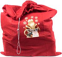 Мешок подарочный Белбогемия От Деда Мороза 26169366 / 91152 -